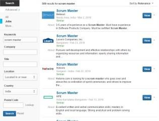 Scrum Master Jobs India