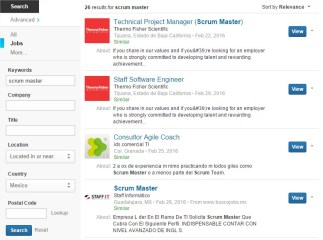 Scrum Master Jobs Mexico