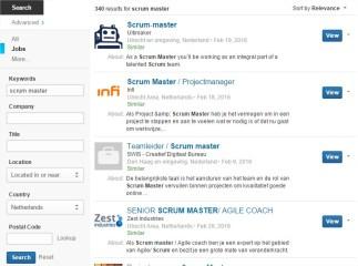 Scrum Master Jobs Netherland
