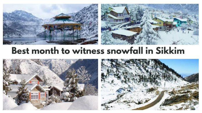 Snowfall In Sikkim Best Month To Witness Snowfall In Sikkim