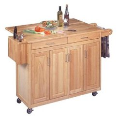 Rolling Cart For Kitchen Laminate Table Get Organized With Island Storage Carts
