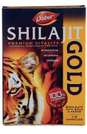 Dabur Shilajit Gold Capsules Pack Of 10