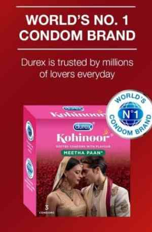 Durex Kohinoor Meetha Paan Flavoured Condoms