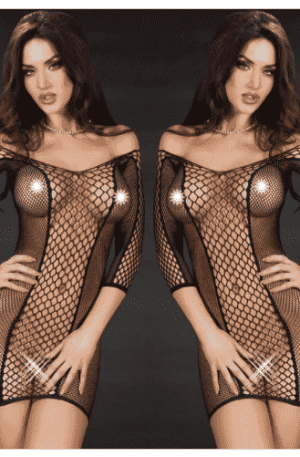 Lingerie Lace Fishnet Sleepwear Babydoll Underwear Nightwear Dress Sexy