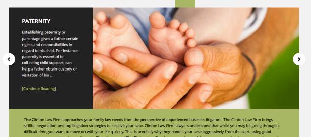 Clinton Family Law