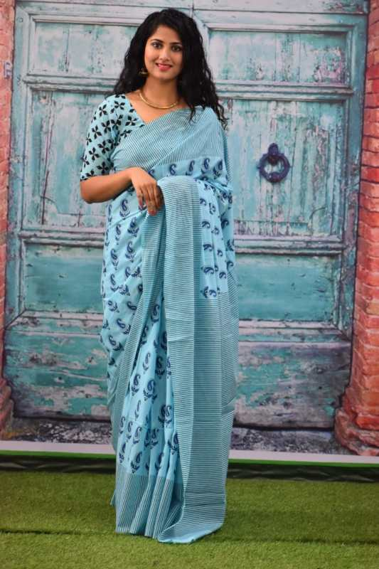 Mulmul saree Online Shopping with Big Discount