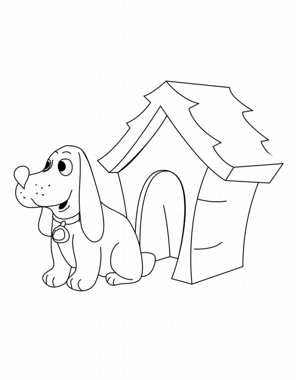 Clifford Printable Coloring Pages