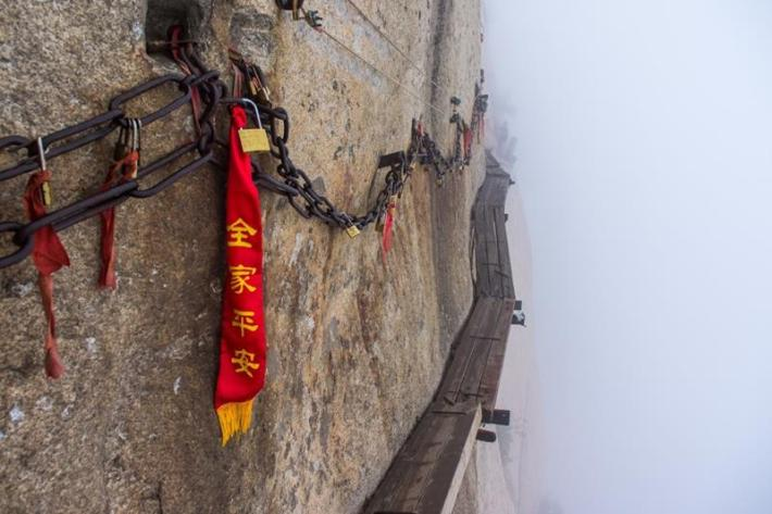 HUASHAN (China) – The Dangerous mountain path