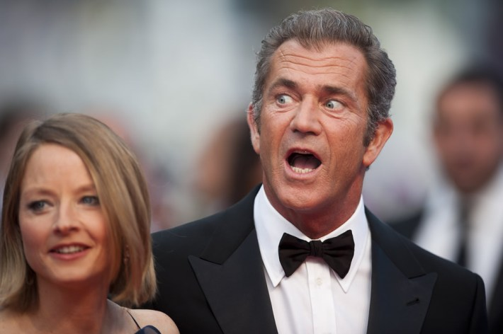 Robin Moore and Mel Gibson