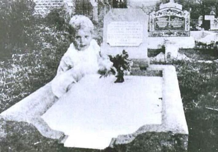 The Cemetery Ghost Child