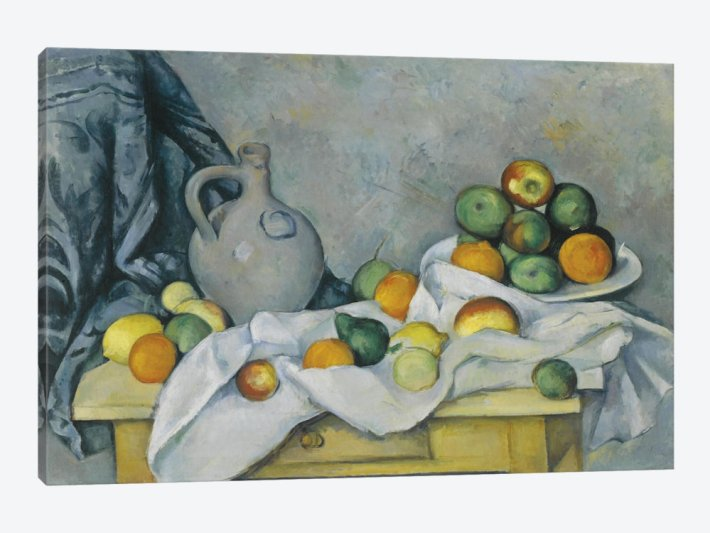 Curtain, Jug and Fruitbowl | Painted by Paul Cezanne | 25 Most Expensive Paintings in the World
