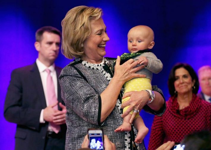 Hillary Clinton | She is there for all the children and families