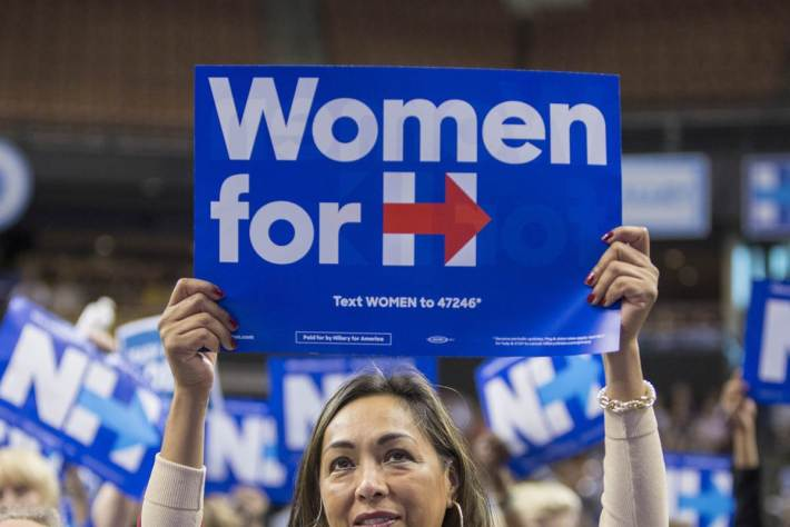 Hillary Clinton   She fights for women and girls