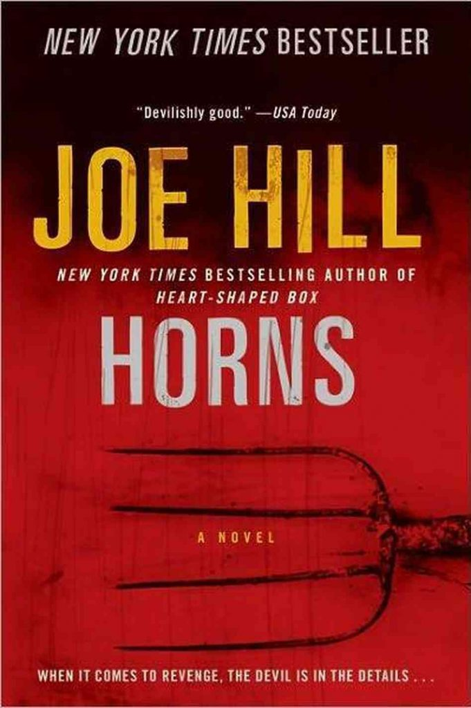 Horns by Joe Hill | 25 Scary Books That Will Keep You Up All Night Awake