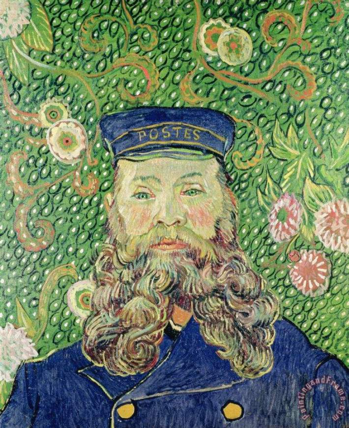 Portrait of Joseph Roulin | Painted by Vincent van Gogh | 25 Most Expensive Paintings in the World