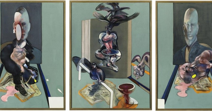 Triptych, 1976 | Painted by Francis Bacon | 25 Most Expensive Paintings in the World