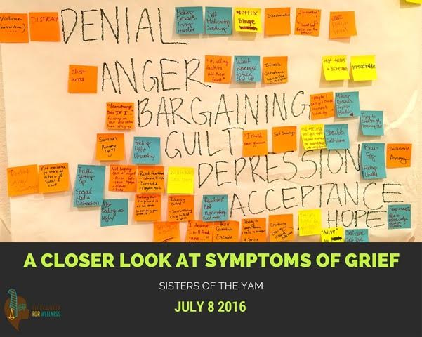 July 8th Sessions: A Closer Look at Symptoms of Grief