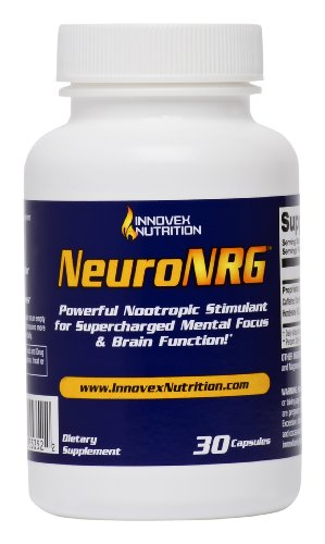 NeuroNRG – Powerful stimulant for daily focus. Provides all day long increased brain function, mental focus, and enhanced energy.