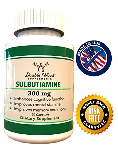 Sulbutiamine-Nootropic-Supplement-Made-in-USA-300mg-50-Capsules-0