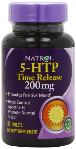 Natrol 5-HTP TR Time Release, 200mg, 30 Tablets