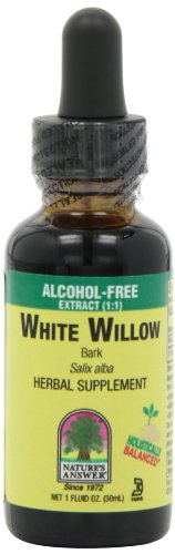 Nature's Answer Alcohol-Free White Willow Bark, 1-Fluid Ounce
