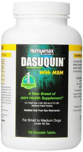 Nutramax-Dasuquin-with-MSM-for-Dogs-Under-60-Pounds-150-Count-0