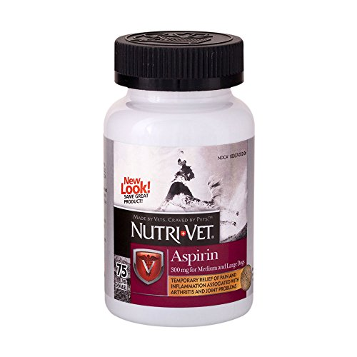 Nutri-Vet K-9 Aspirin Chewables, 75 Count