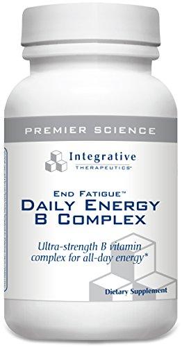 Integrative Therapeutics – End FatigueTM Daily Energy B Complex – 30 veg. caps (Premium Packaging)