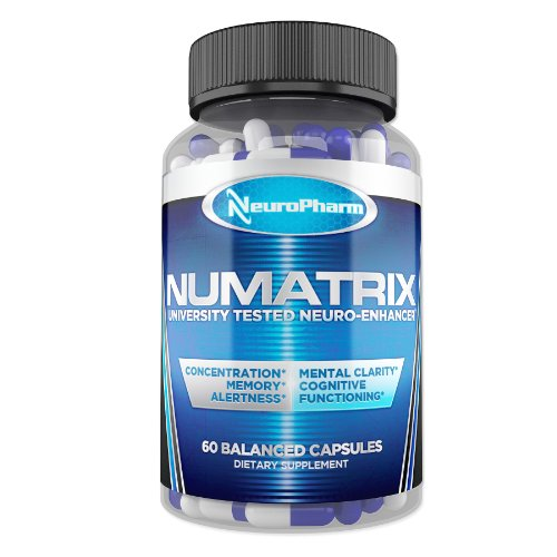 NuMatrix – Memory, Focus, and Brain Supplement – Scientifically Formulated Nootropic