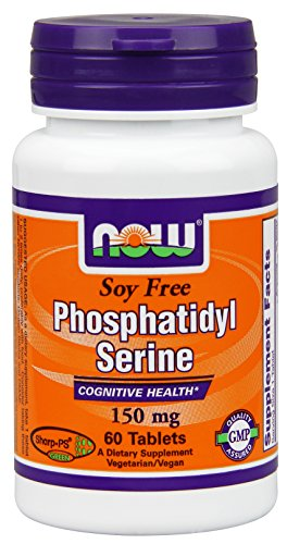 Now Foods Soy-free Phosphatidyl Serine Tablets, 150 mg, 60 Count
