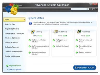 Advanced System Optimizer Crack 3.9.3700.18392 + Key Latest 2021