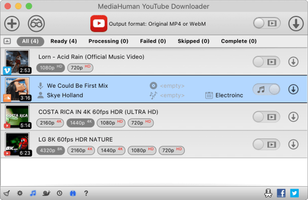 MediaHuman YouTube Downloader 3.9.9.54 (1504) + Crack Latest