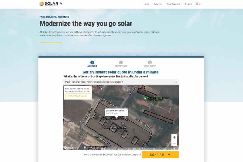 eco business solar ai article