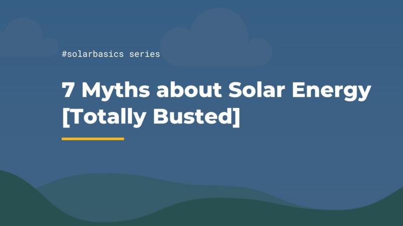 solar energy myths solar ai singapore