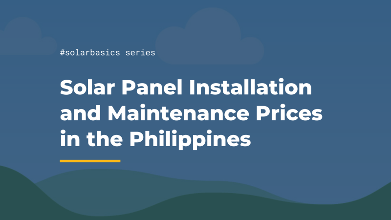 solar panel price philippines