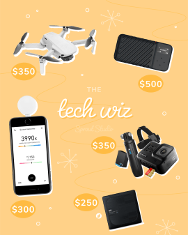 """Photography gifts for the """"tech wiz"""""""