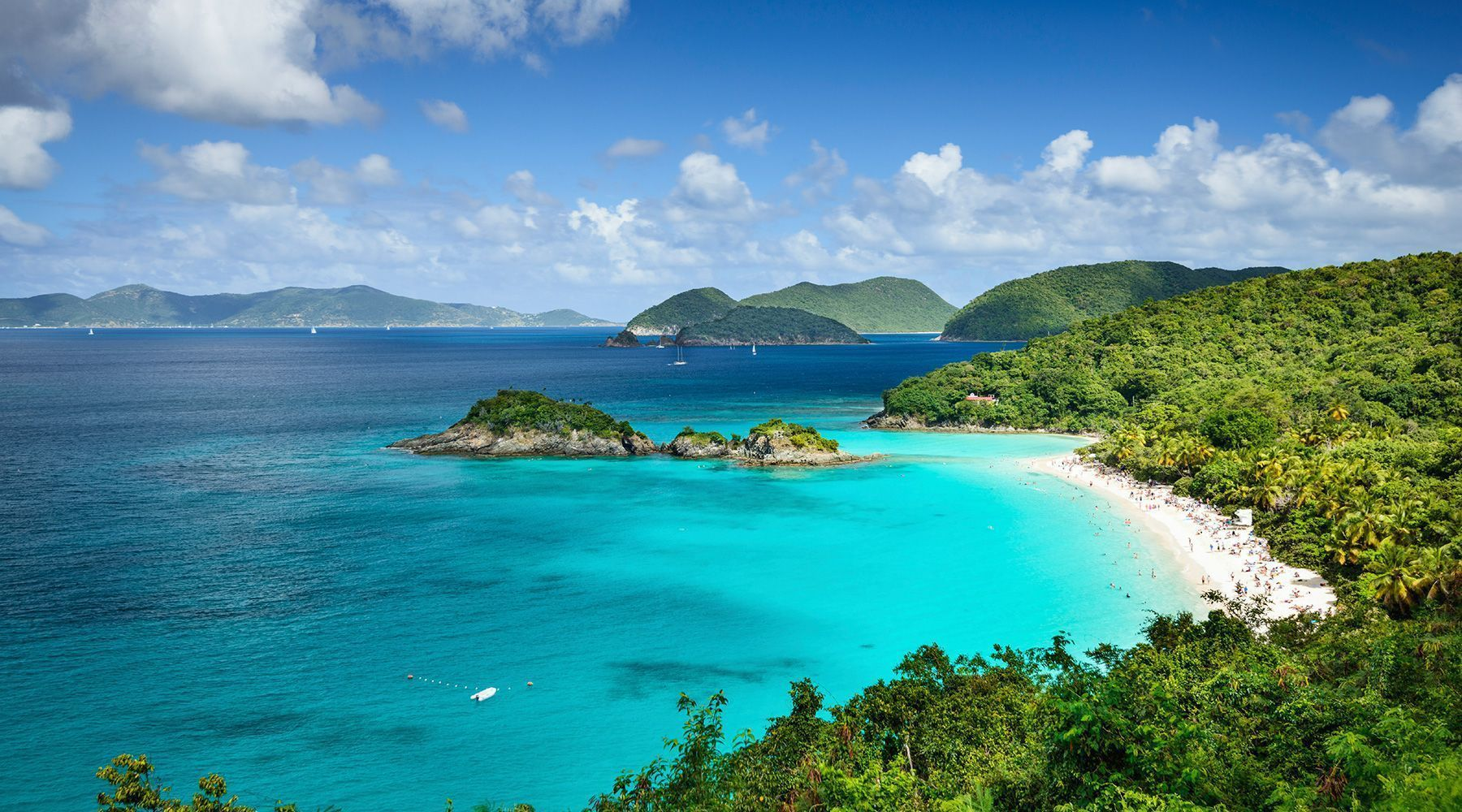 Virgin Islands The Exotic Beaches  Gets Ready