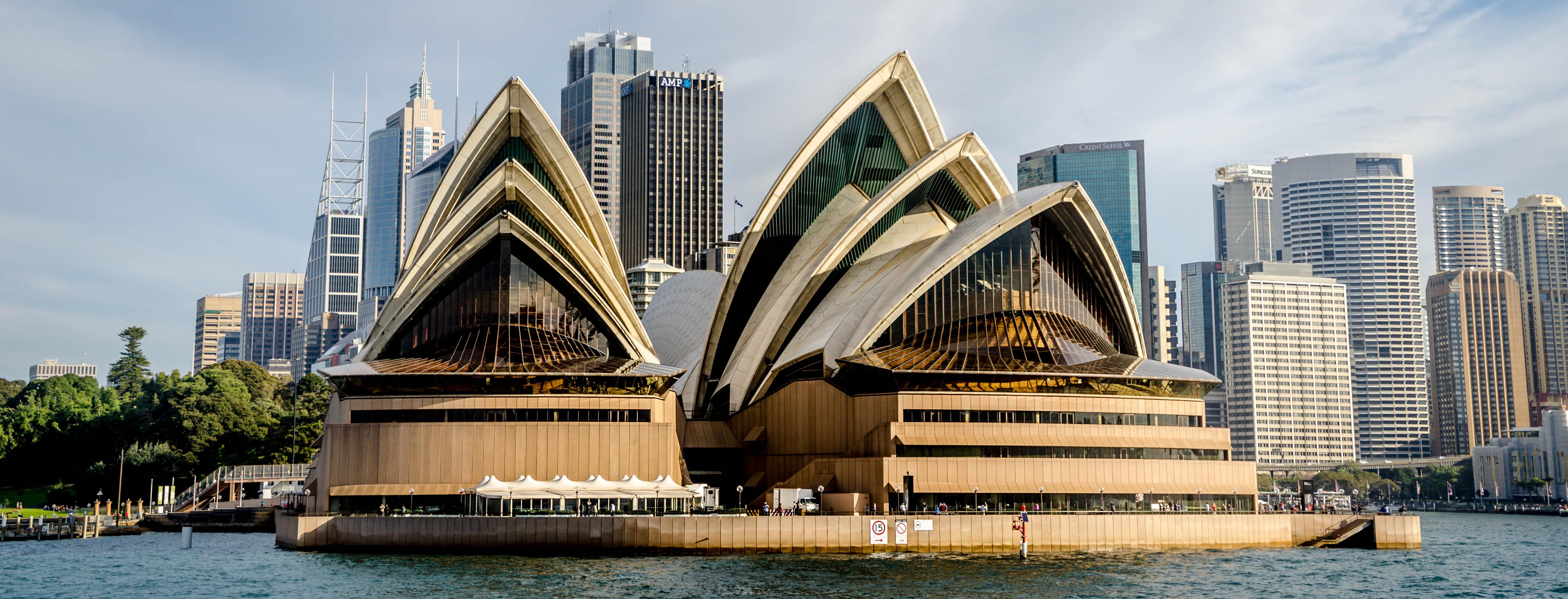 Sydney Opera House Australia  Gets Ready