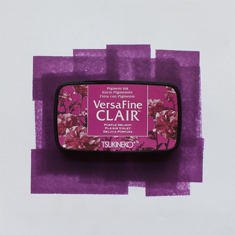 purple versafine ink pad