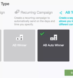 campaigns 39 select campaign type ab auto winner [ 1352 x 766 Pixel ]