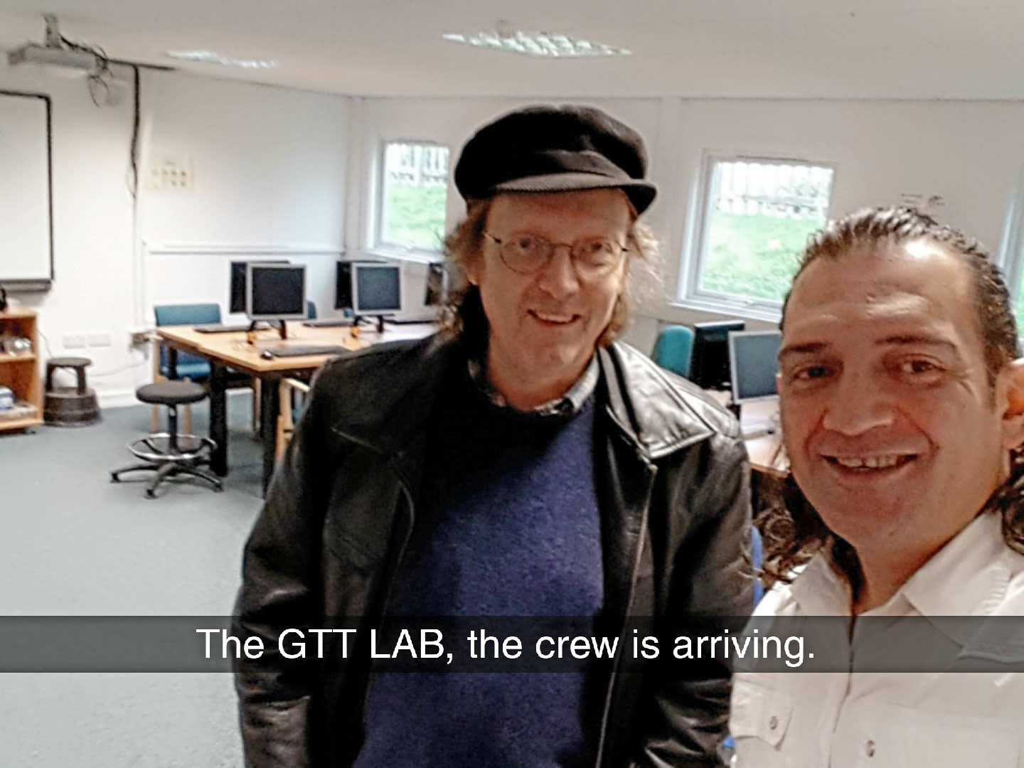 Today At The Gtt Lab Get Technology Together