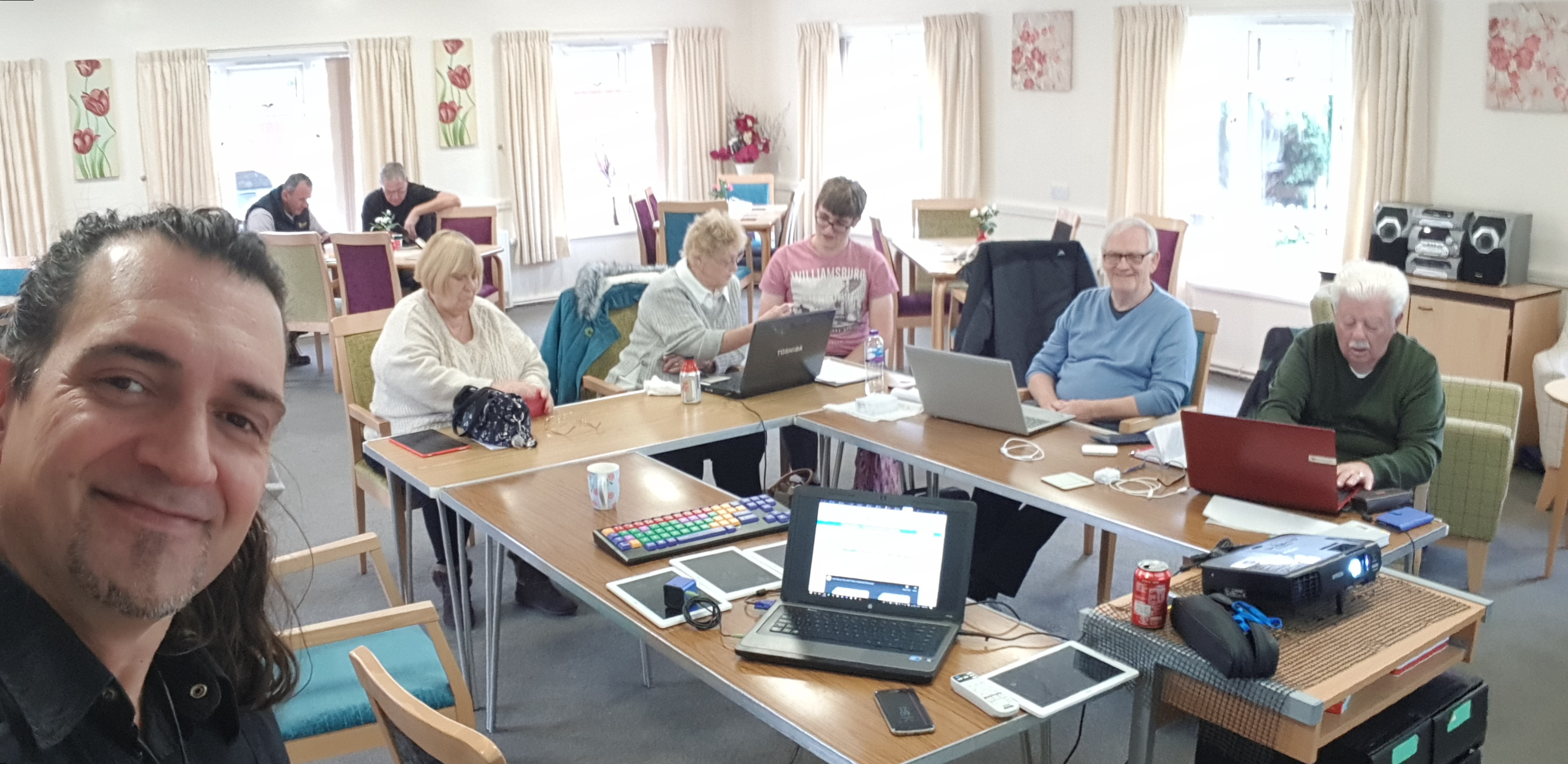 Lovely Morning At Northfield Community Centre It Was Excellent Get Technology Together