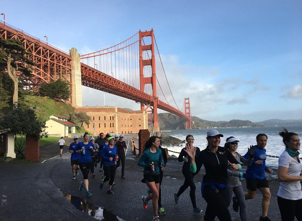 SF Run Club, a great place to meet new friends