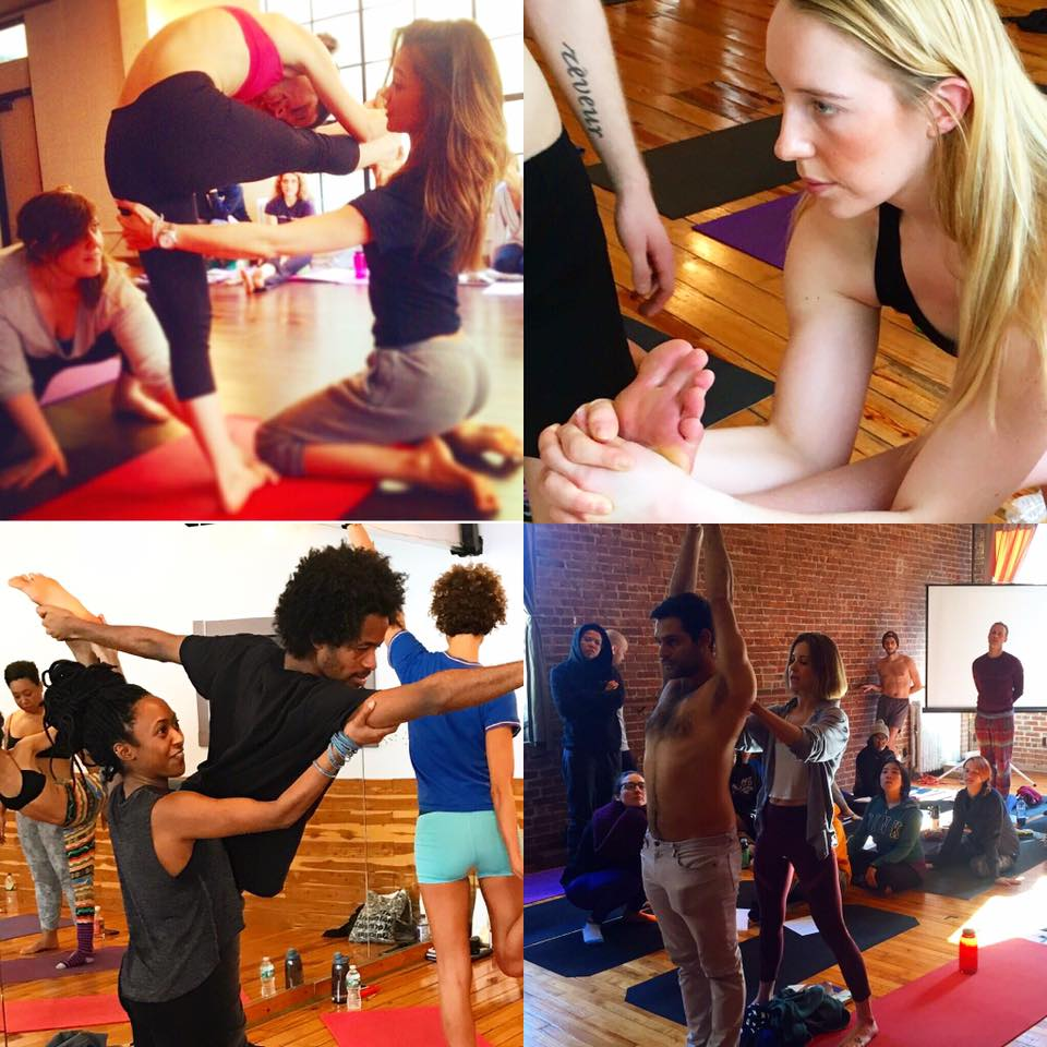 Yoga to the people, meet new people in nyc while doing yoga