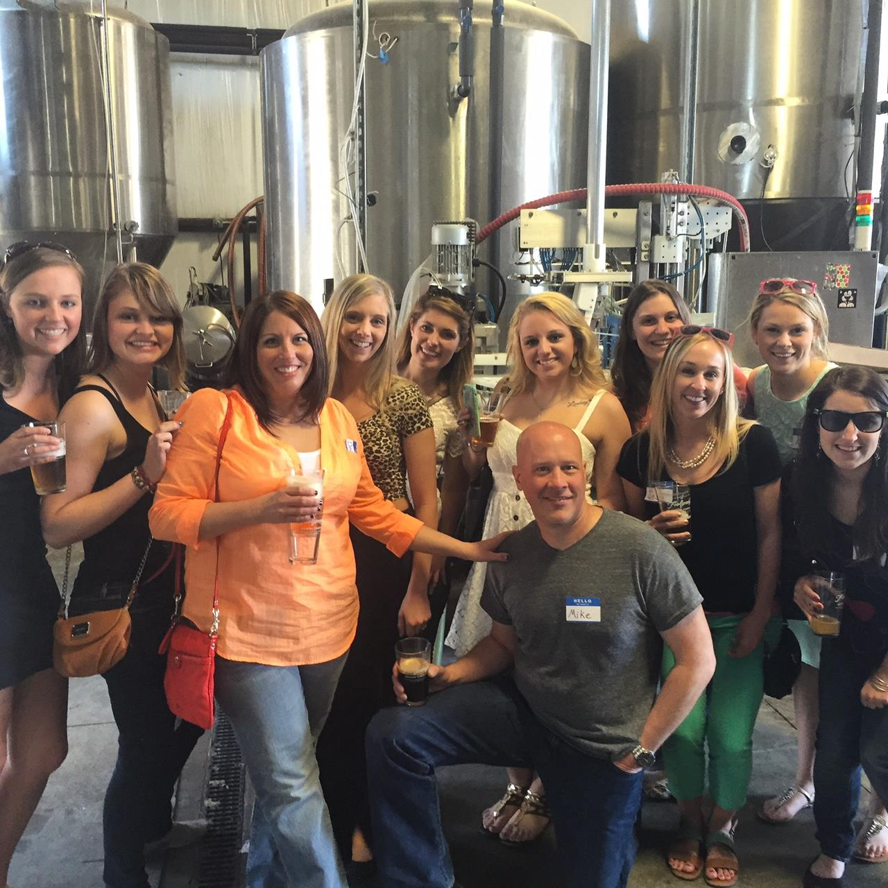 beers, brewery tour, and conversation! that's how you meet people in providence