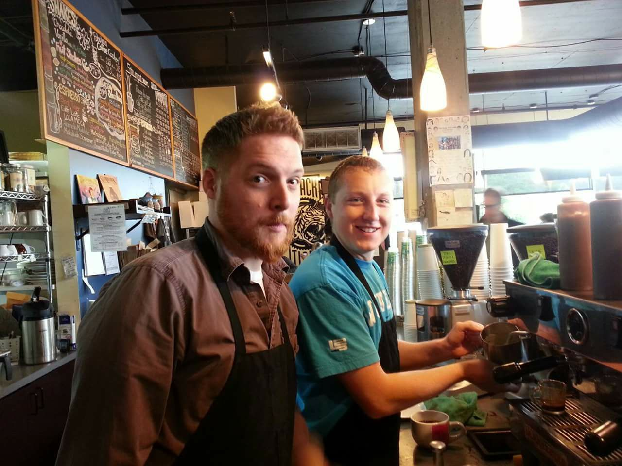 meet coffee and pastery lovers in portland at jim and patty's