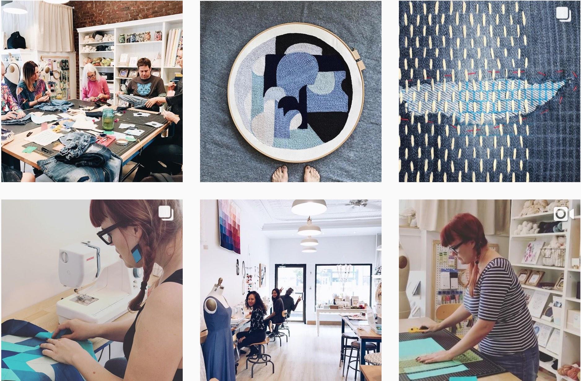 meet people in nyc during makeworkshop classes