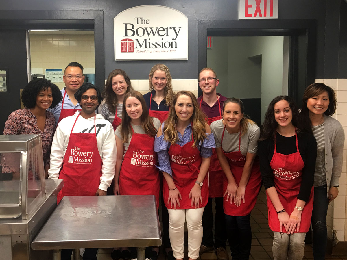 meet volunteers of bowery mission in new york