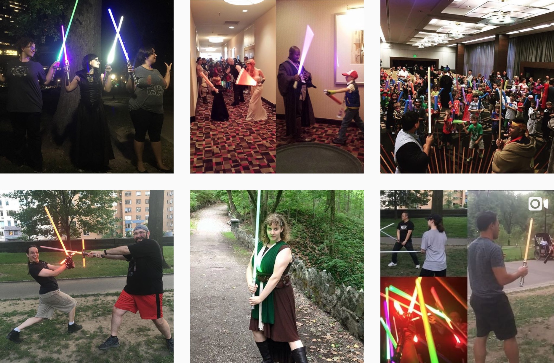new york jedi is a great place to meet other people who love light sabers