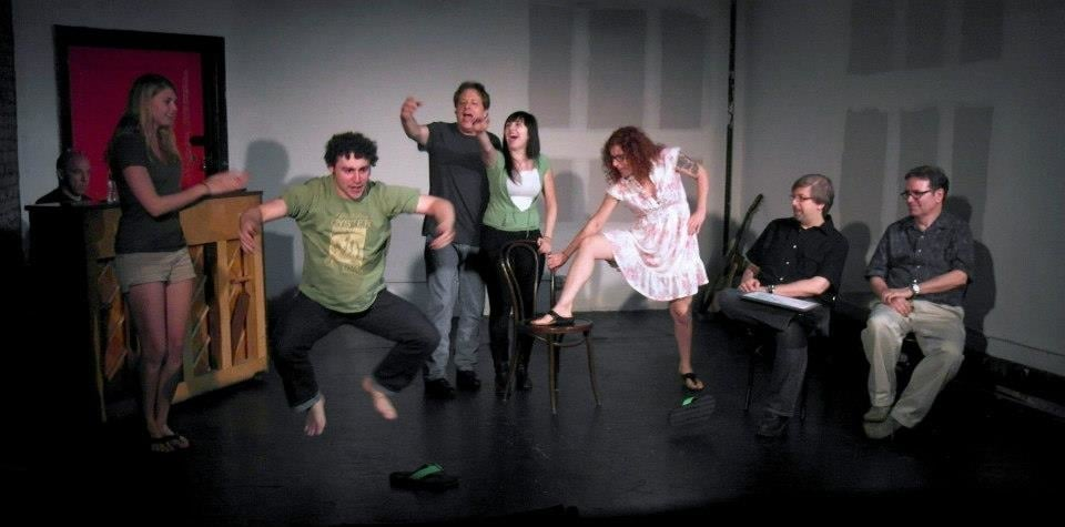 take improv class at the fast and funny improve in nyc and meet new friends